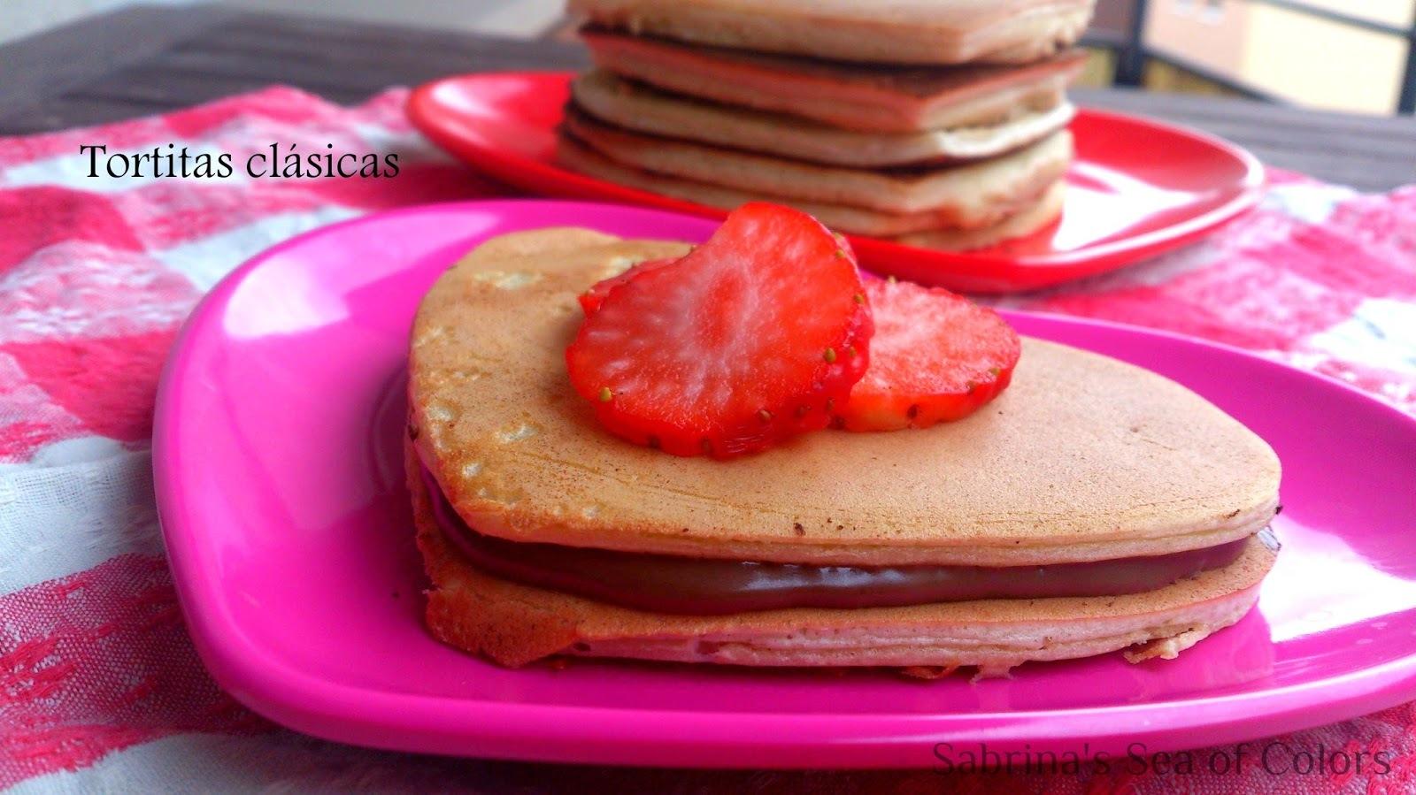 Tortitas americanas, receta clásica. Pancakes