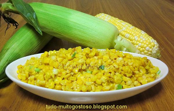 como faz arroz com milho verde