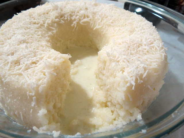 bolo de tapioca com leite condensado coco