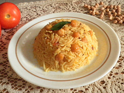 CHANA/GARBANZO PULAO