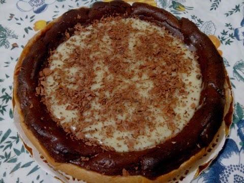 Tarta de Nutella y Chocolate Blanco