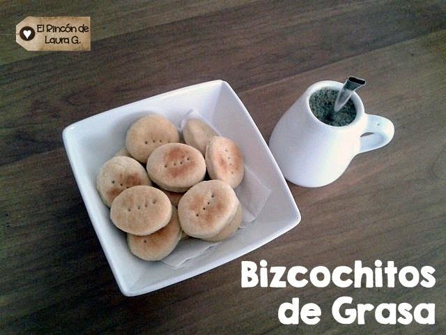 Receta de Bizcochitos de Grasa
