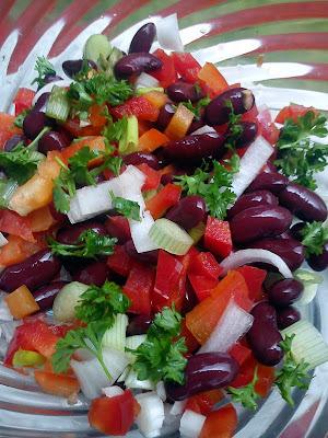 Kidneybønne salat