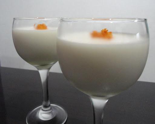 mousse de limão com iogurte natural