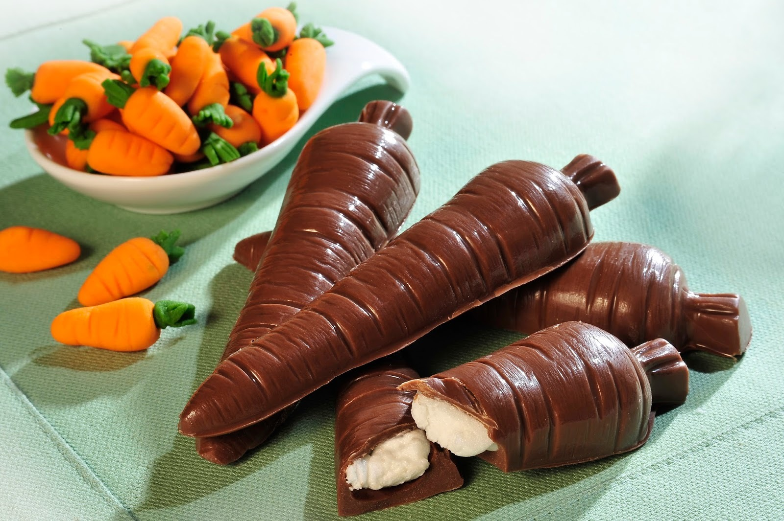 Cenourinha de chocolate União ( receita de páscoa )
