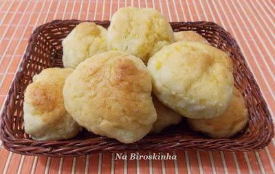 de pão com farinha de arroz e mandioquinha