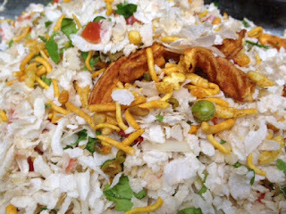 Healthy Poha Chat