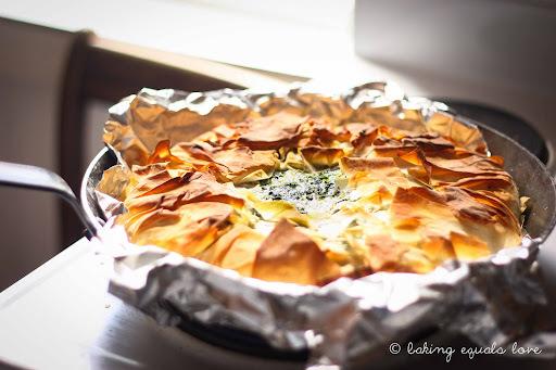 Spinach, Lemon & Feta Filo Pie and To Do Lists