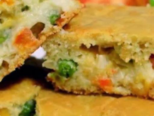 torta salgada farinha de arroz integral