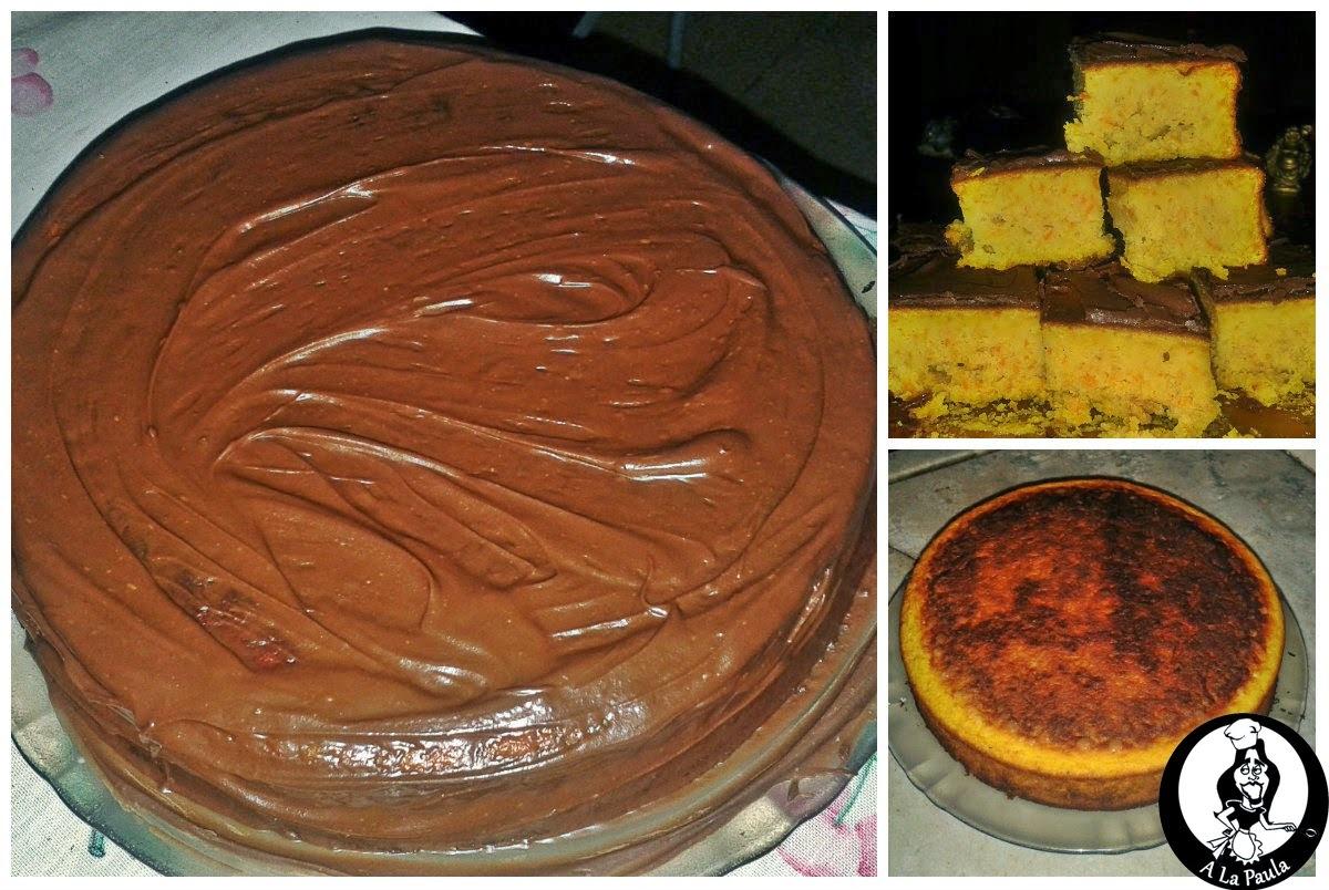 Torta de zanahoria y naranja A la Paula!!!!