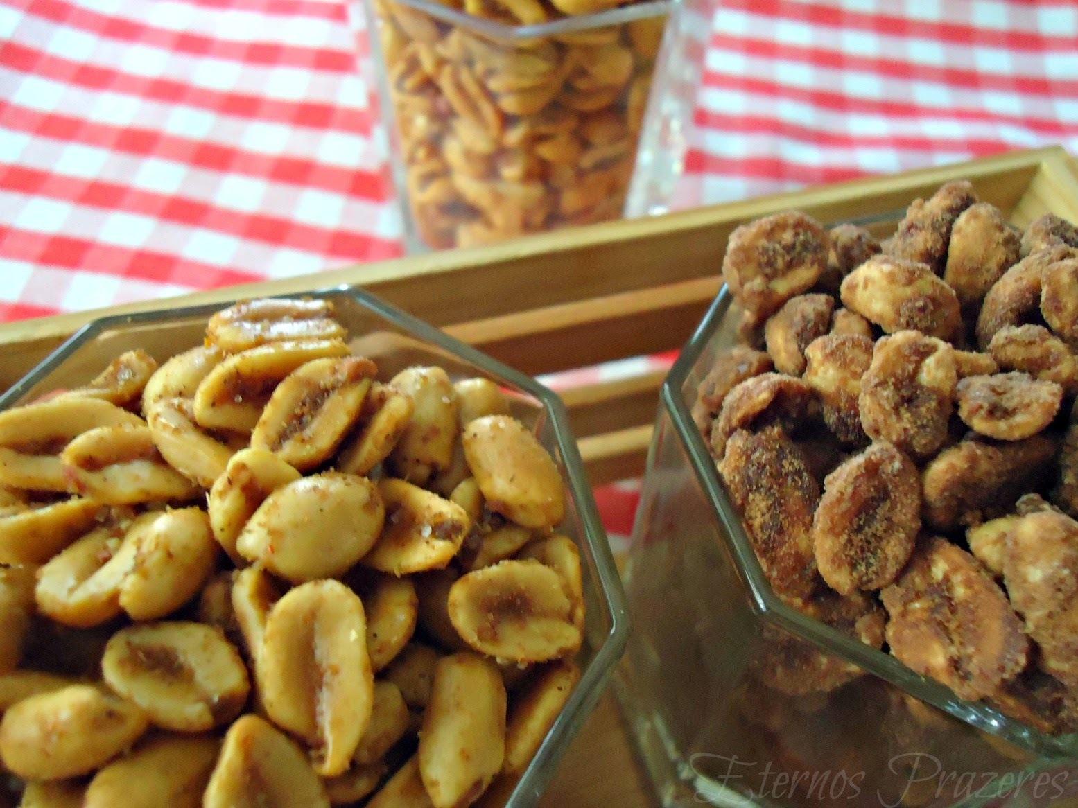 Amendoins, para sua torcida ficar aquecida!
