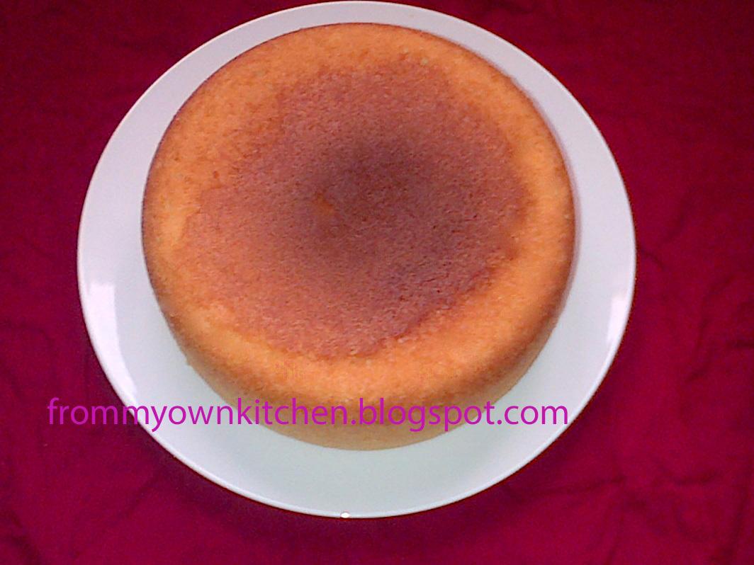 Kums/Simple Sponge Cake