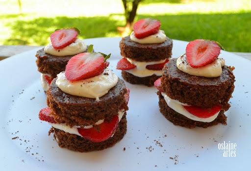 como fazer mini bolo gelado para vender