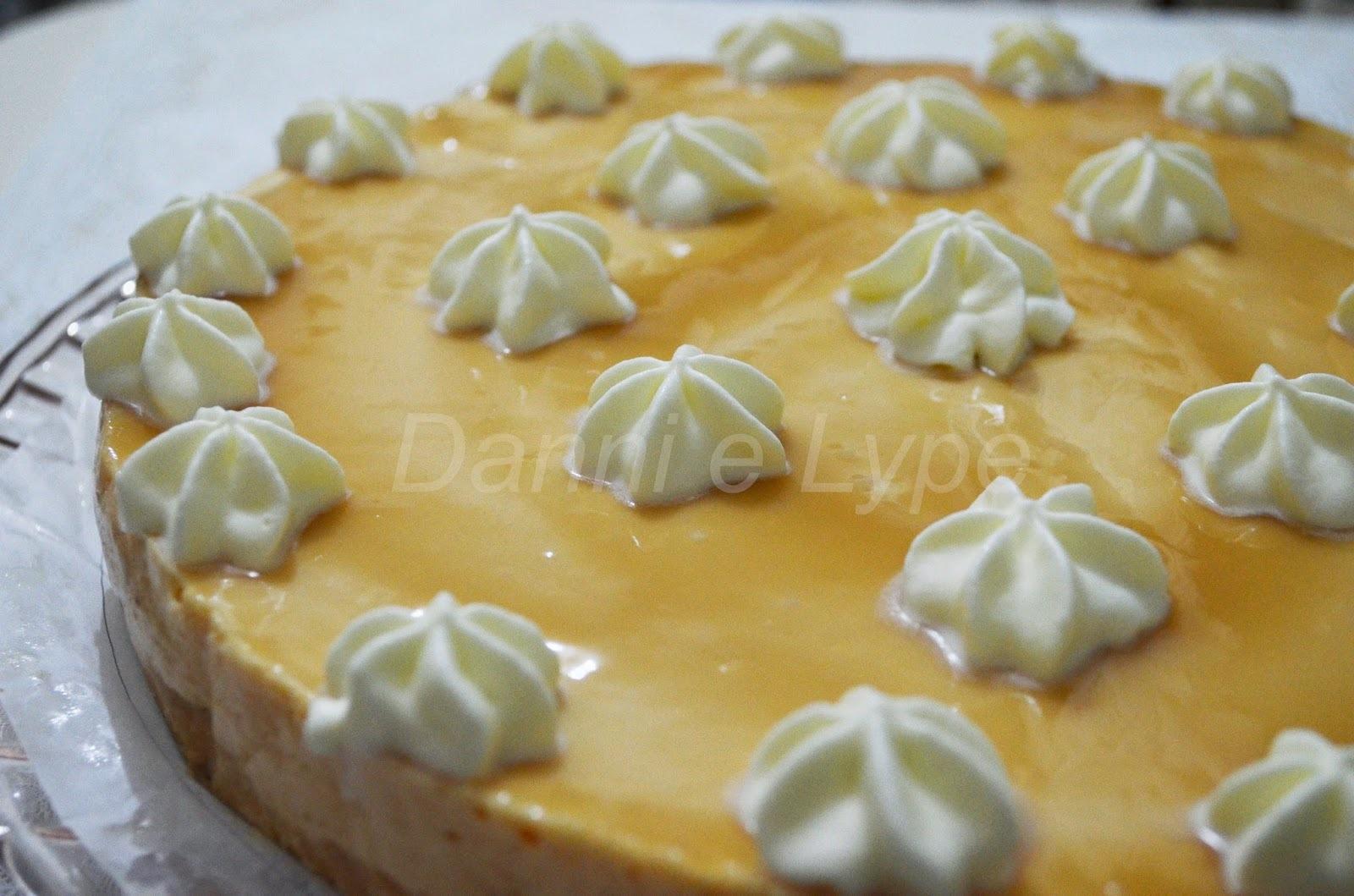 Torta de Papaya com Cassis (versão normal e sem adição de açúcar)
