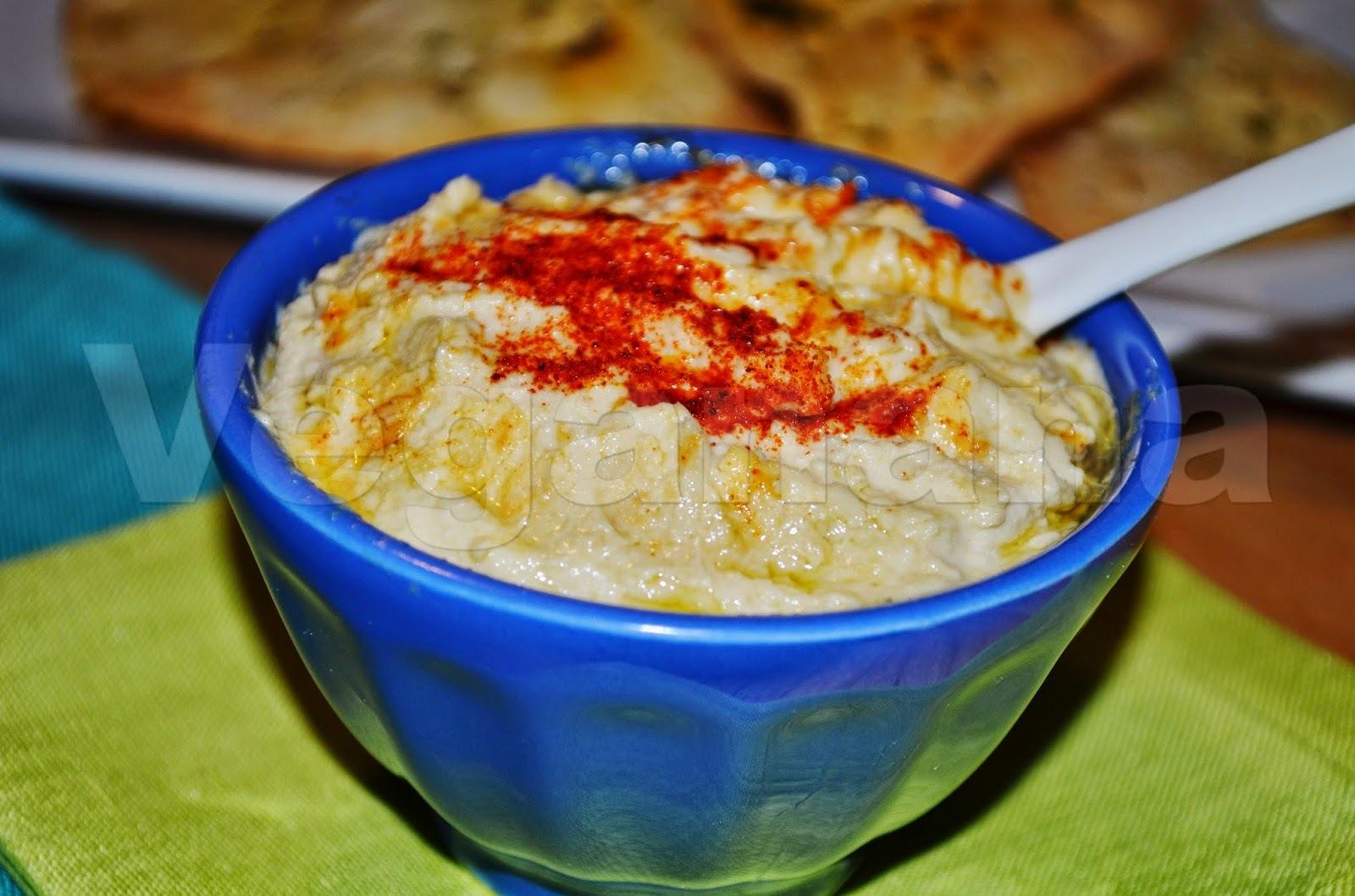 Hummus  (Pasta de Grão de Bico)