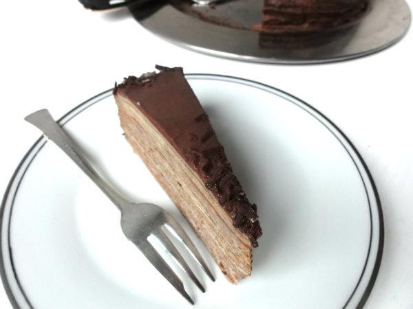 Francuska torta od palačinki - Mille crepe