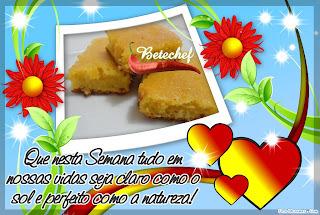 """Bolo de Milho com Leite Condensado e Coco  """"por Viviane marques"""""""