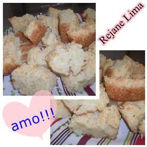 Bolo de tapioca caroçuda: Rejane Lima