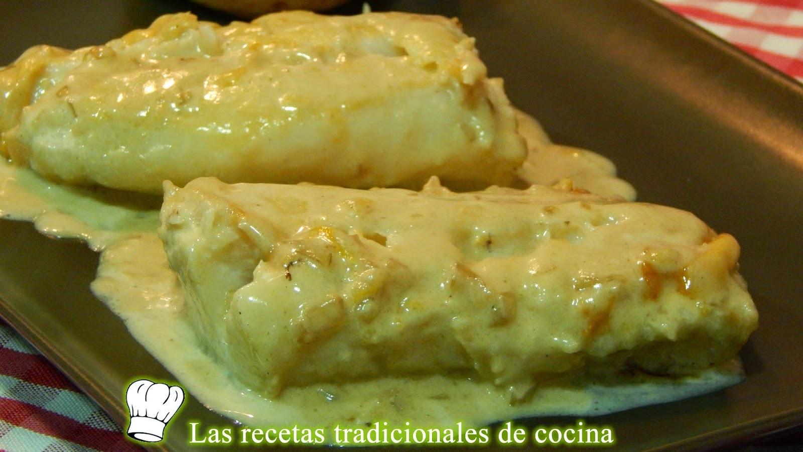 Receta fácil de bacalao a la crema con limón