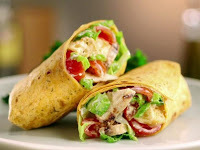 wrap de frango light