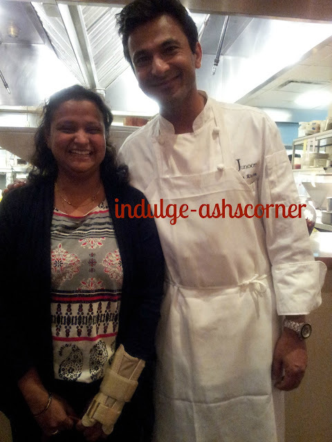Junoon--An experience with master Chef Vikas Khanna