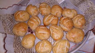 Pão de de farinha de feijão branco