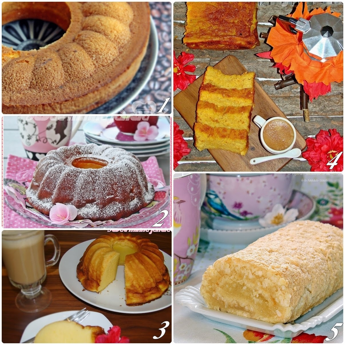 Receitas de bolos para as festas juninas