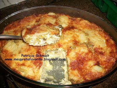 Brócolis com batata ao forno
