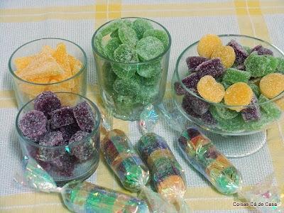 gomas de limão