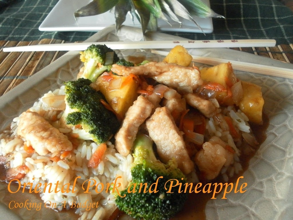 Oriental Pork and Pineapple