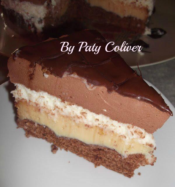 Bolo tentação de chocolate e coco: Paty Coliver