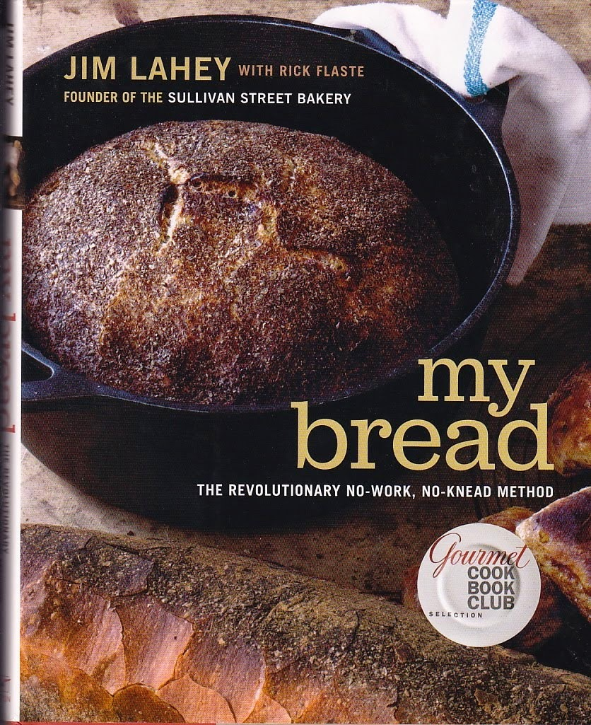 """My bread"", o método revolucionário de fazer pão não amassado, por Jim Lahey 