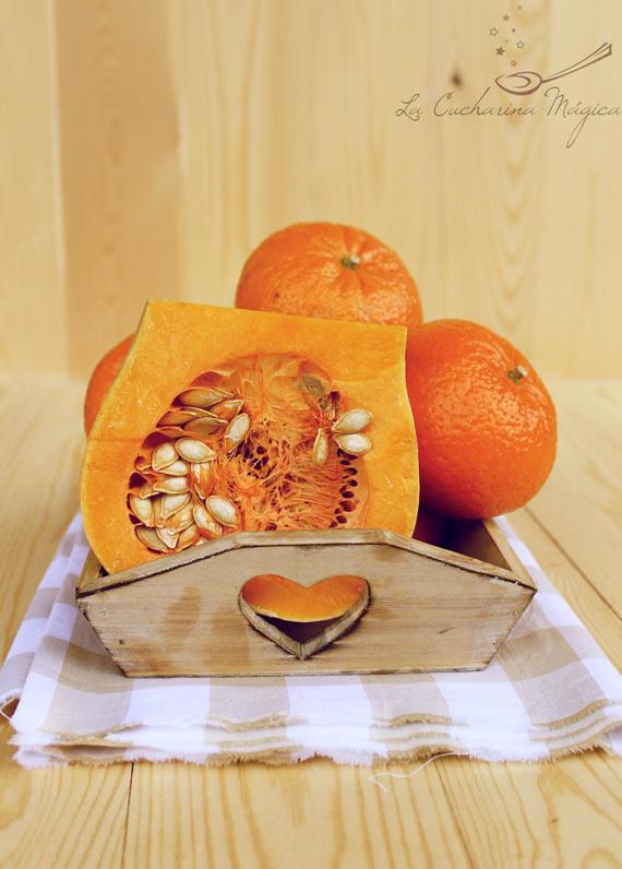 Mermelada de mandarina y calabaza dulce