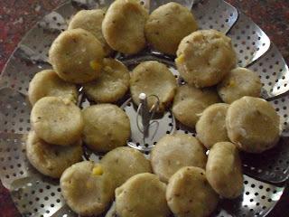 Jolada Hittina Kadubu - Jowar Flour Dumplings