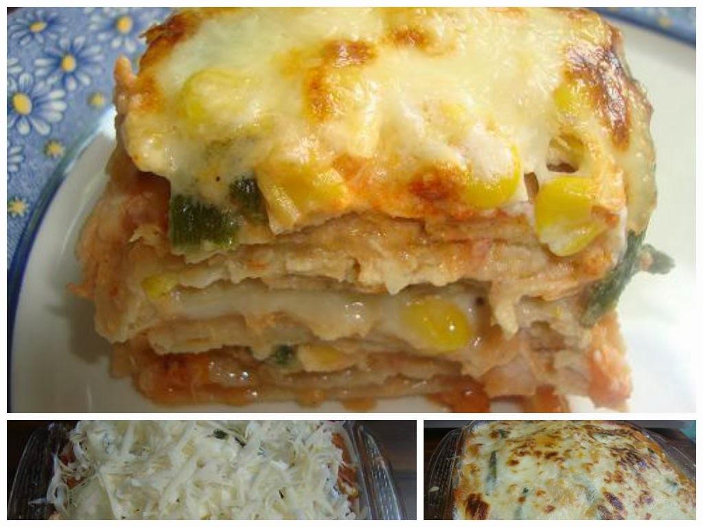 Pastel Azteca o Lasagna Mexicana?