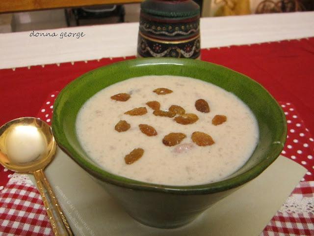 Aval/Beaten Rice Payasam