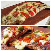 Matambre de carne tiernizado a la pizza