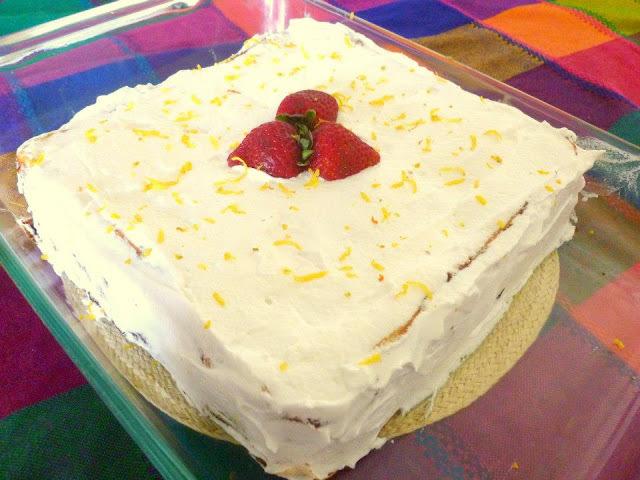 Torta panqueque manjar y frambueza (primer intento)