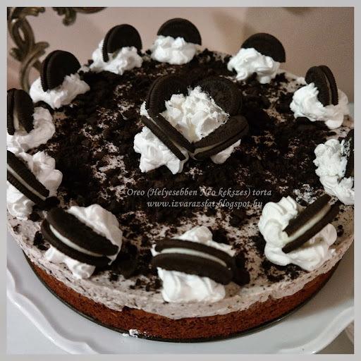 Oreo torta (Helyesebben Neo kekszes torta)