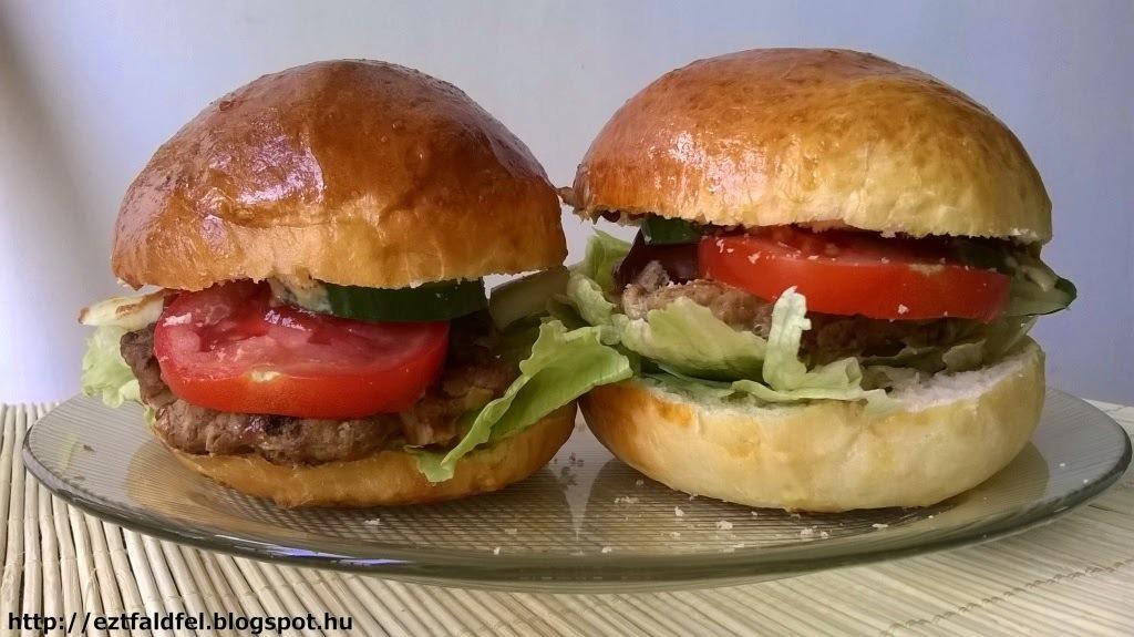 Házi készítésű hamburger - hamburger házilag