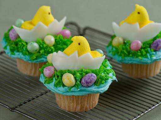 de cupcakes para pascoa