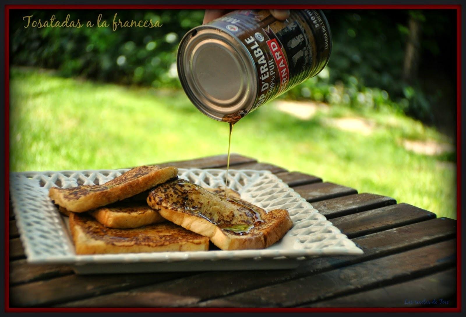 Tostadas a la francesa (French Toast)