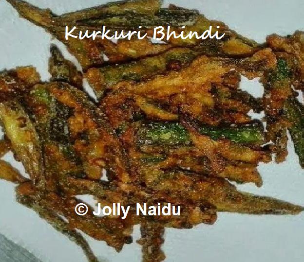 Kurkuri Bhindi | Crispy Okra Recipe