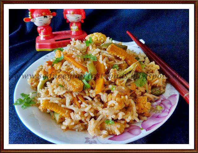 Spicy Schezwan Fried Rice