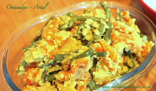 Avial - Keralan mixed vegetable  l  Kukskitchen
