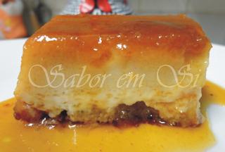 pão de queijo no liquidificador assado em forma de pudim