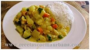 Cocina Latinoamericana,receta de Cau Cau