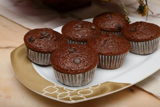 Muffins de moka (chocolate y café)