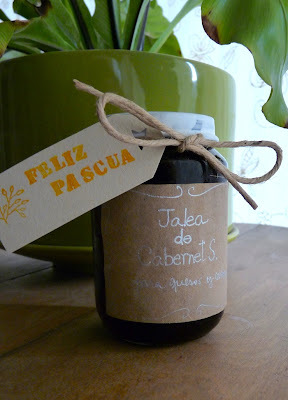 hecho en casa: jalea de vino / homemade: wine jelly