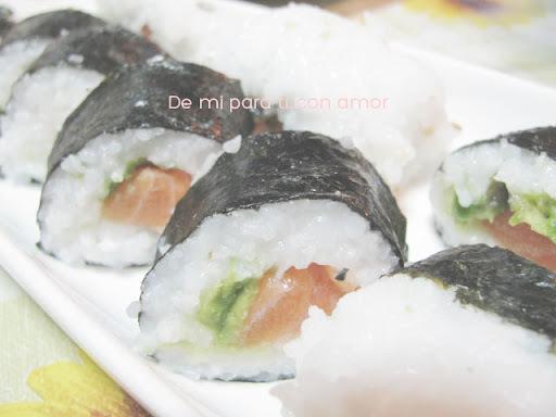 Recetas: Sushi